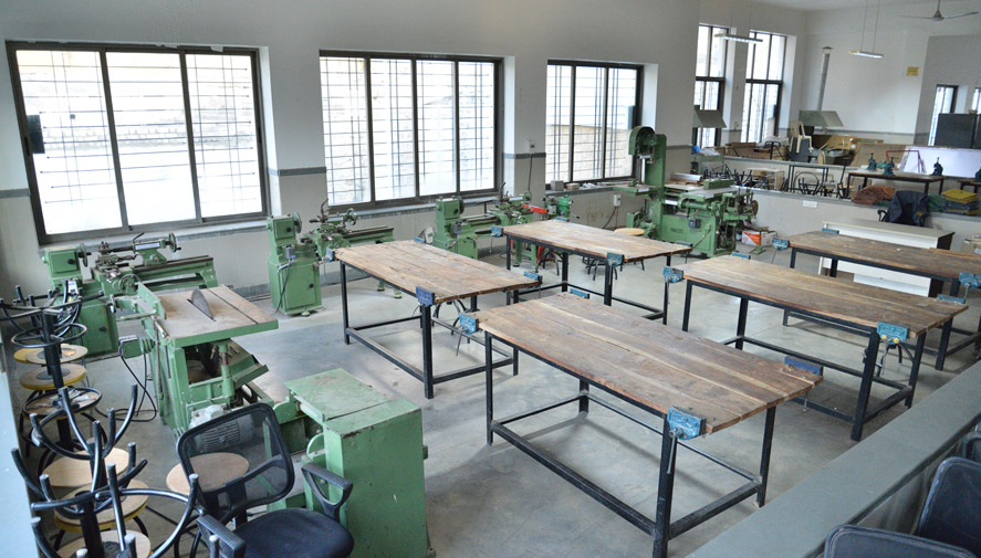 Carpentry-shop